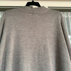 worthington Sweaters - Mock Neck Long sleeve Pullover sweater with bell